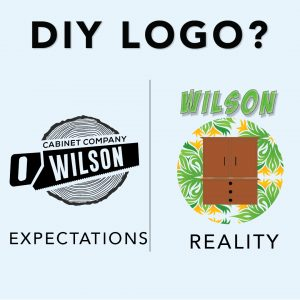 Wyred Insights - Do it yourself logo? Leave it to the Professionals - Wilson Cabinet Company