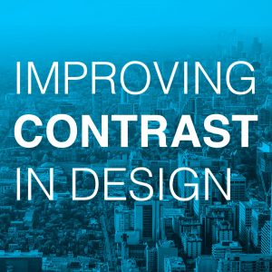Wyred Insights Improving Contrast in Design