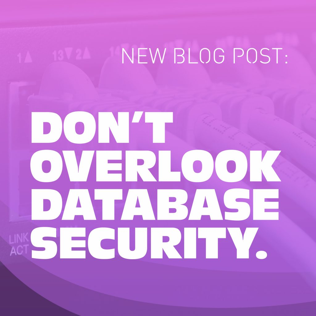Wyred INsights - Don't overlook Database Security
