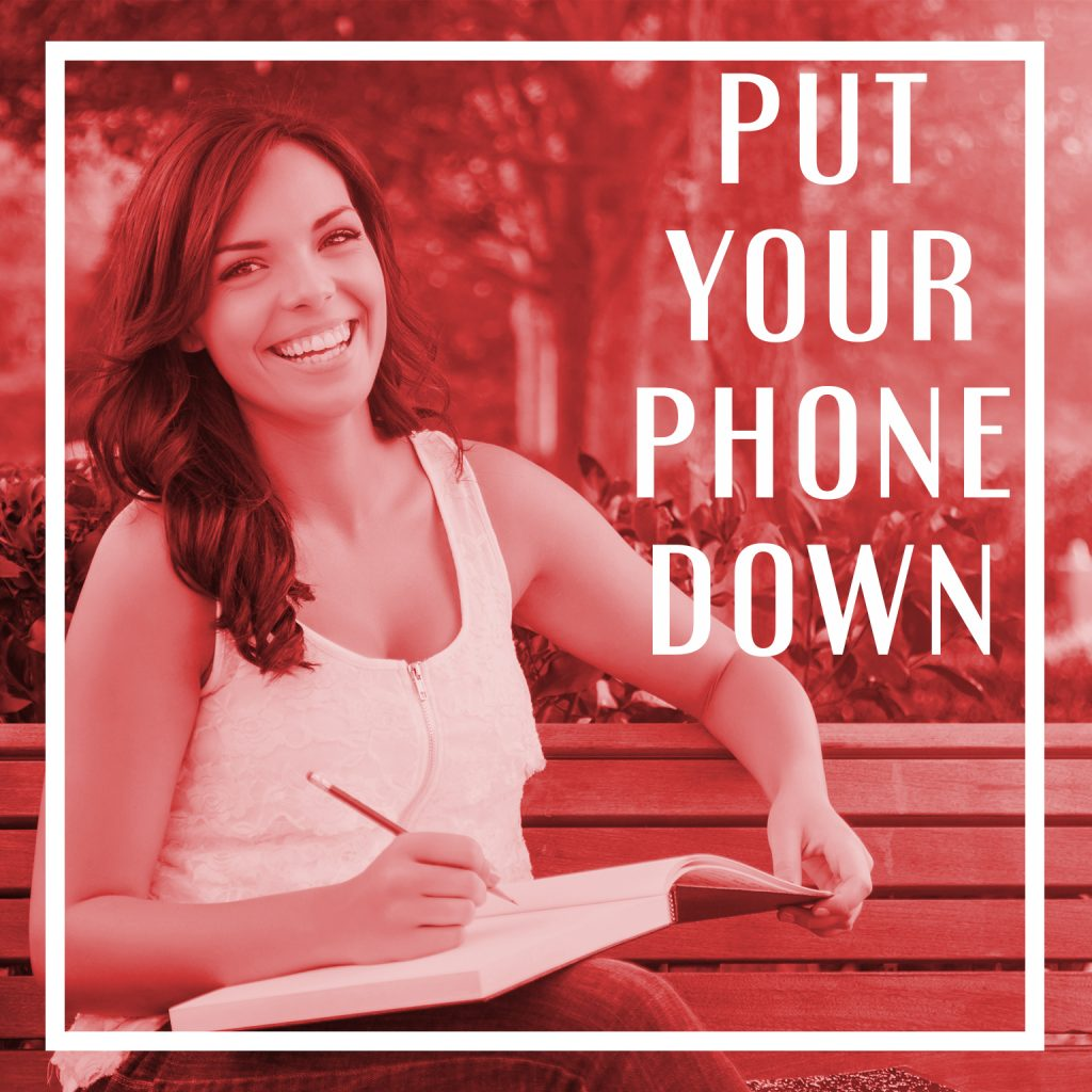 Wyred Insights - Put your Phone Down
